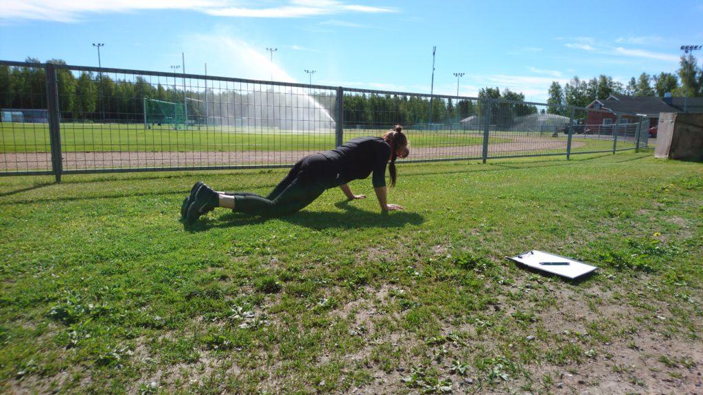 Fysioterapia voi olla myös pelkkää treeniä. Jatan kertomus omasta fysioterapiaprojektista